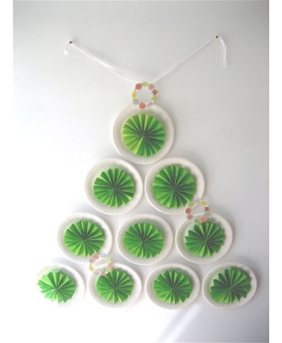 4_christmastree  sc 1 st  Craft-craft.net & christmas tree wall decoration - crafts ideas - crafts for kids