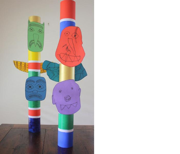 Native American Totem Poles For Kids Kid 39 s Totem Poles by Khali