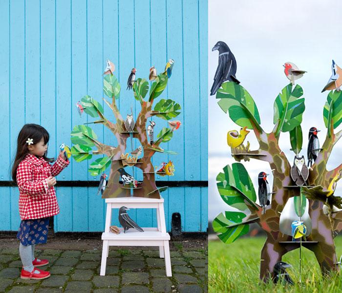 Kidsonroofbirdtree
