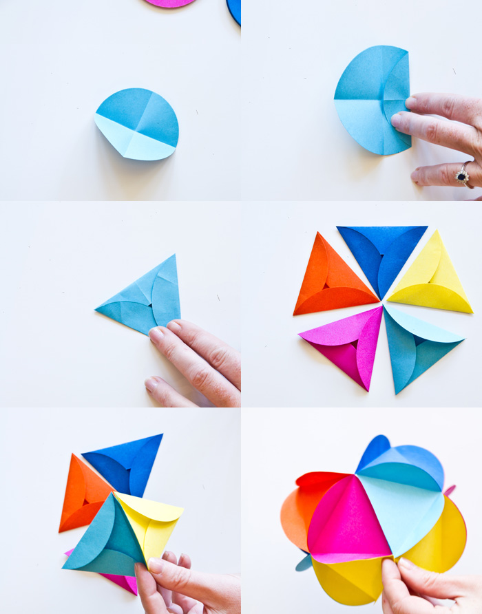 Paper ball – How to make a origami kusudama flower ball – diy home ... | 892x700