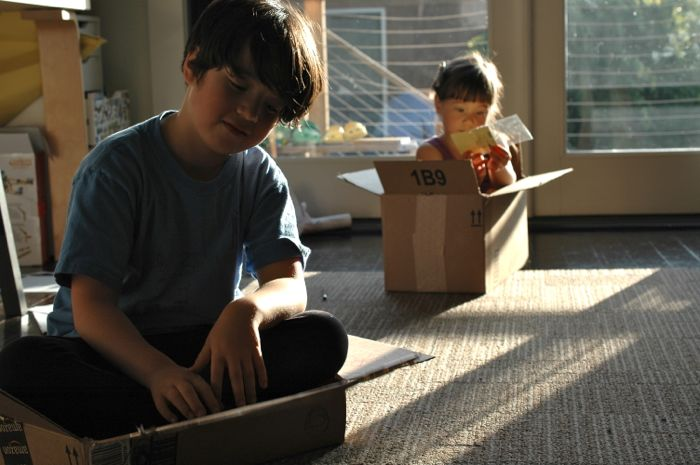 Cardboard box pic