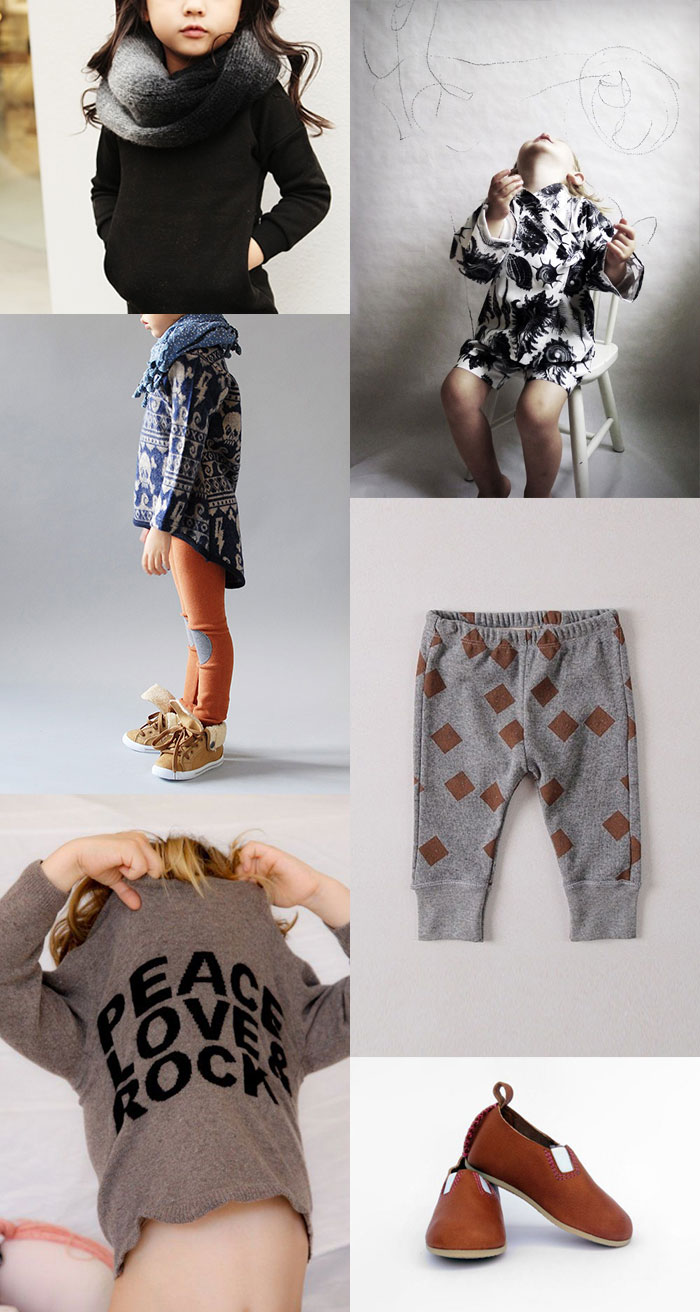 Bloesem Kids | fashion collage