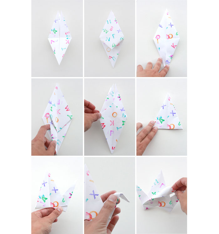 How To Make Things Out Of Paper Part - 16: Bloesem Kids | Paper Bird