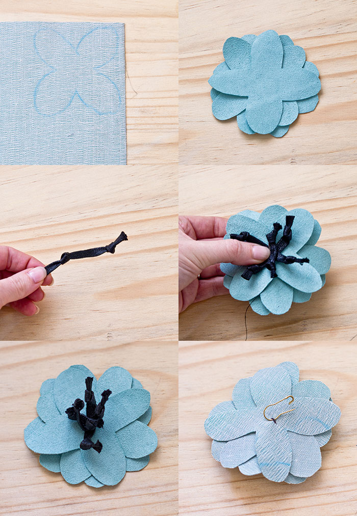 Bloesem Kids | Craft Projects Flower Brooch
