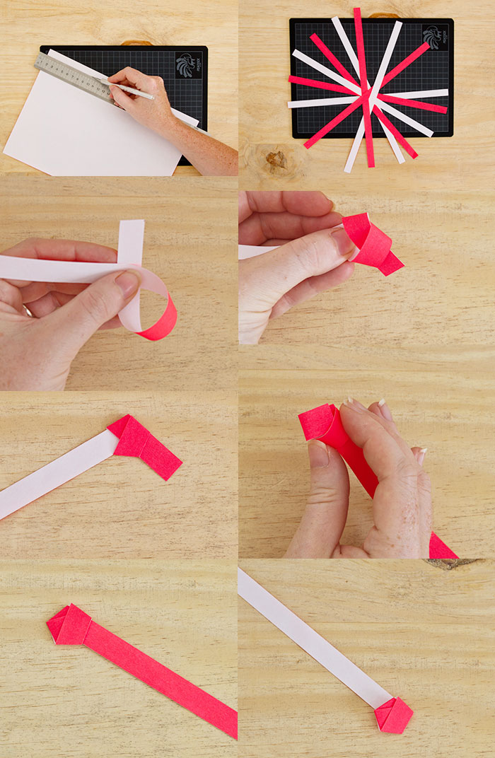 Bloesem Kids | DIY Origami lights garland