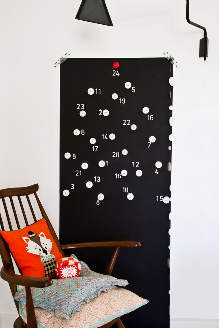 Bloesem Kids | DIY Tealight advent calendar