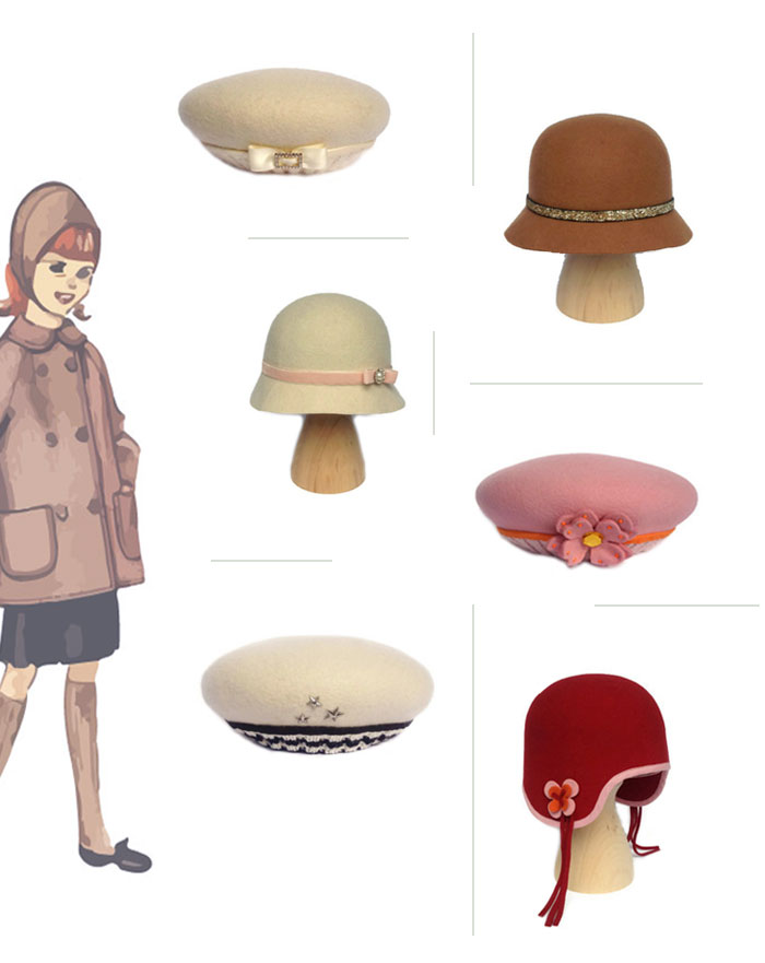 Bloesem Kids | Redpepper Hats from Italy