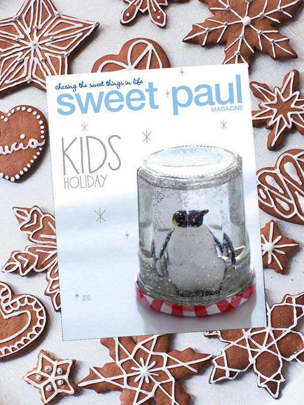 Bloesem Kids   Sweet Paul Kids Holiday Magazine