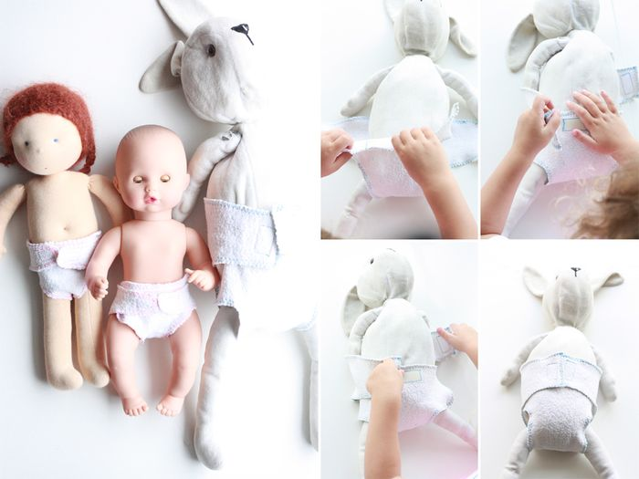 BLoesem Kids | Craft DIY Play Diapers