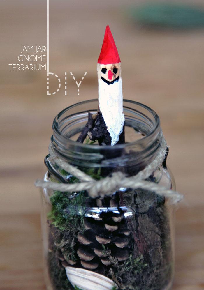 Bloesem Kids | DIY jam jar gnome terrarium