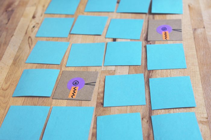 Bloesem Kids | Craft project: Make your own memory game