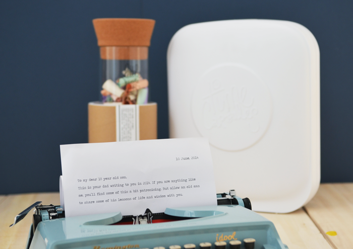 Bloesem Kids | Father's Day gift idea: Time Capsules and Little Quote Jar