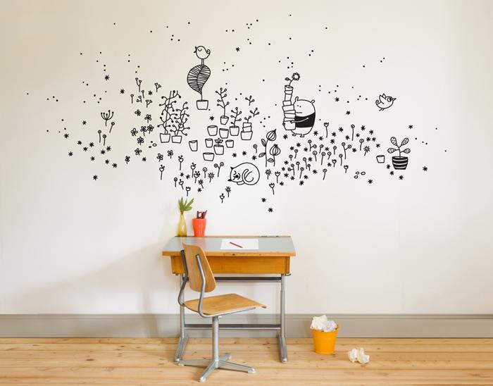 Bloesem Kids | Bumoon vinyl wall decals to brighten up kids rooms