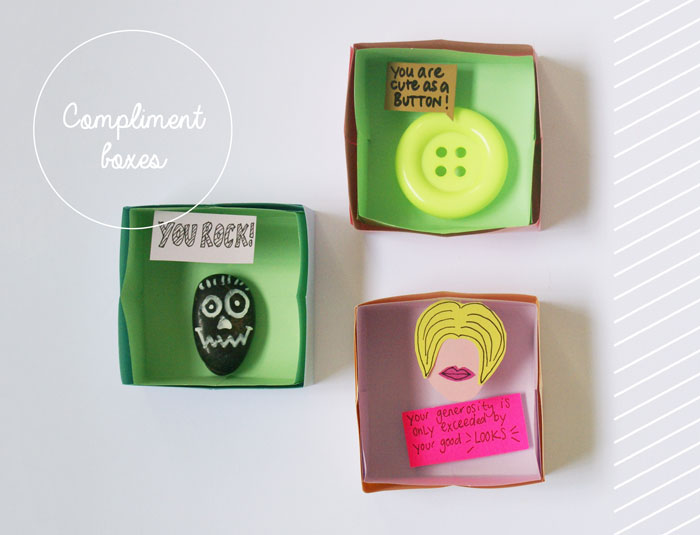Bloesem Kids | Kids travel craft projects - no. 1 of 7: Make your own compliment boxes