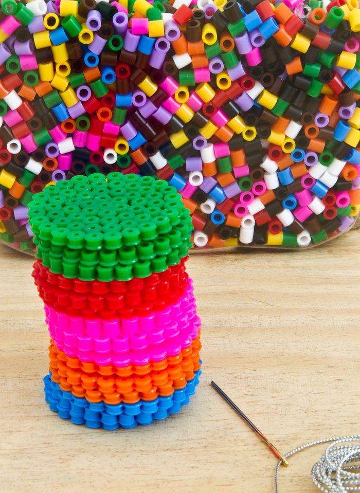 Bloesem Kids   DIY Ironing Beads Garland