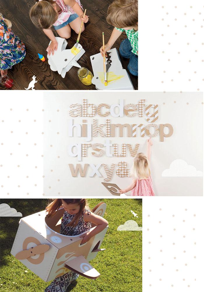 Bloesem kids | Flatout Frankie cardboard fun for the kids
