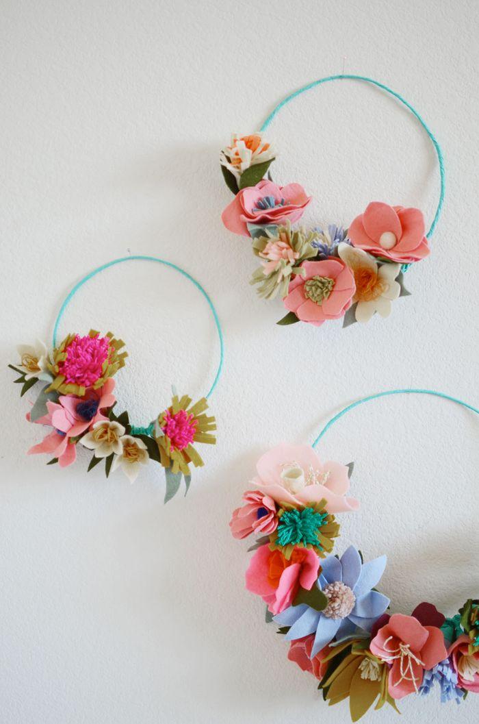 Bloesem Kids | Bloesem Class: Felt flower making with Rubyellen Bratcher of MyCakies