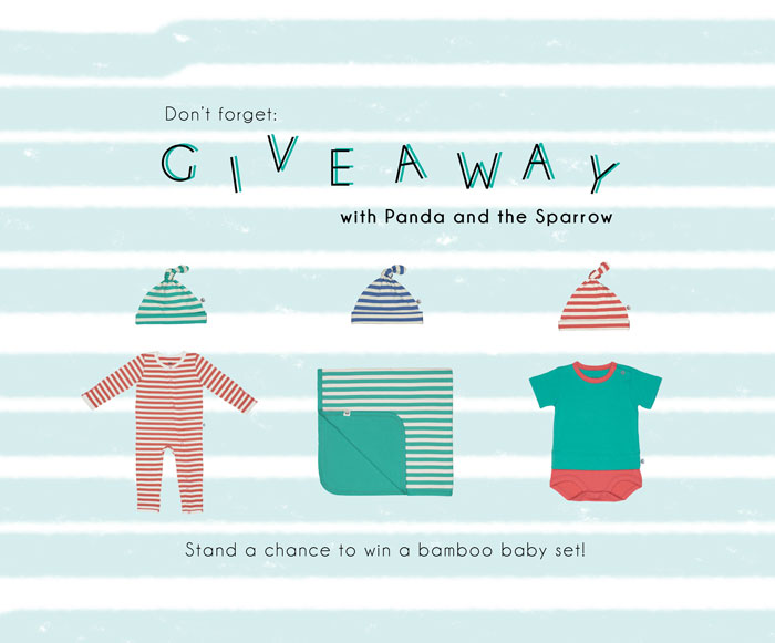 Bloesem Kids | Panda and the Sparrow Giveaway