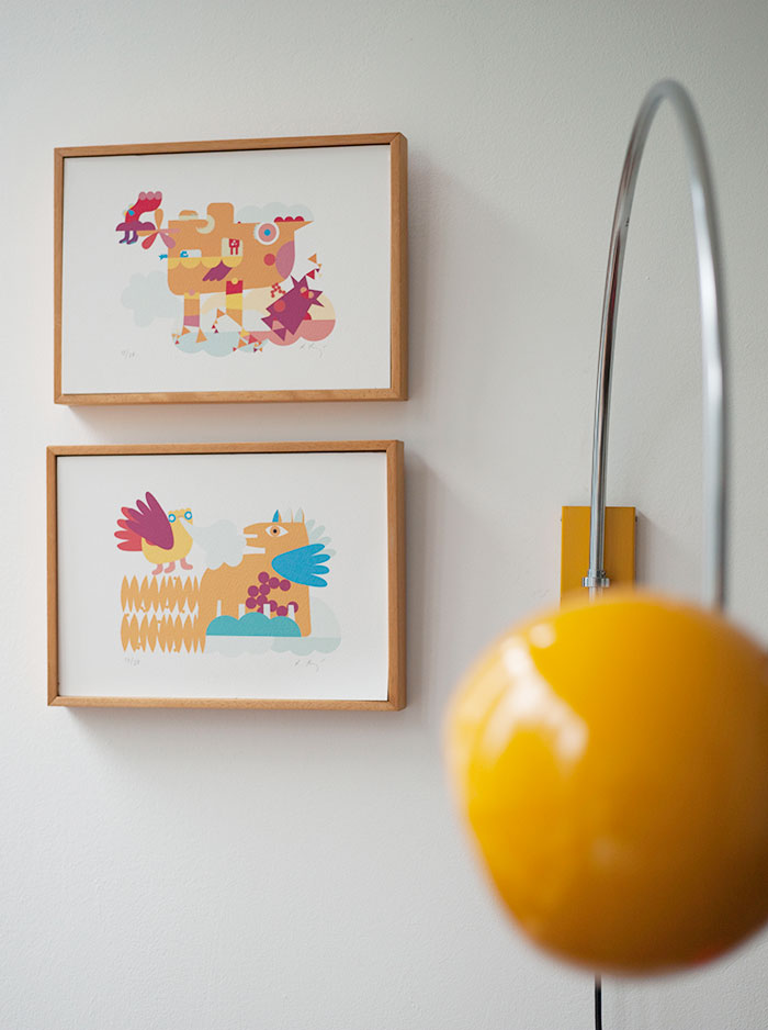 Bloesem Kids | Vintage details in our Kids room