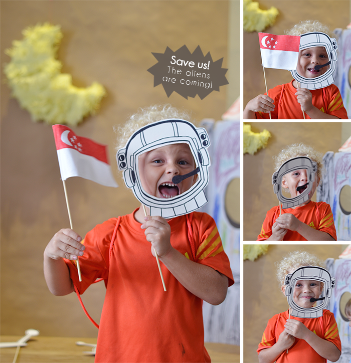 Bloesem Kids | Craft project: Father's Day Printable photobooth props