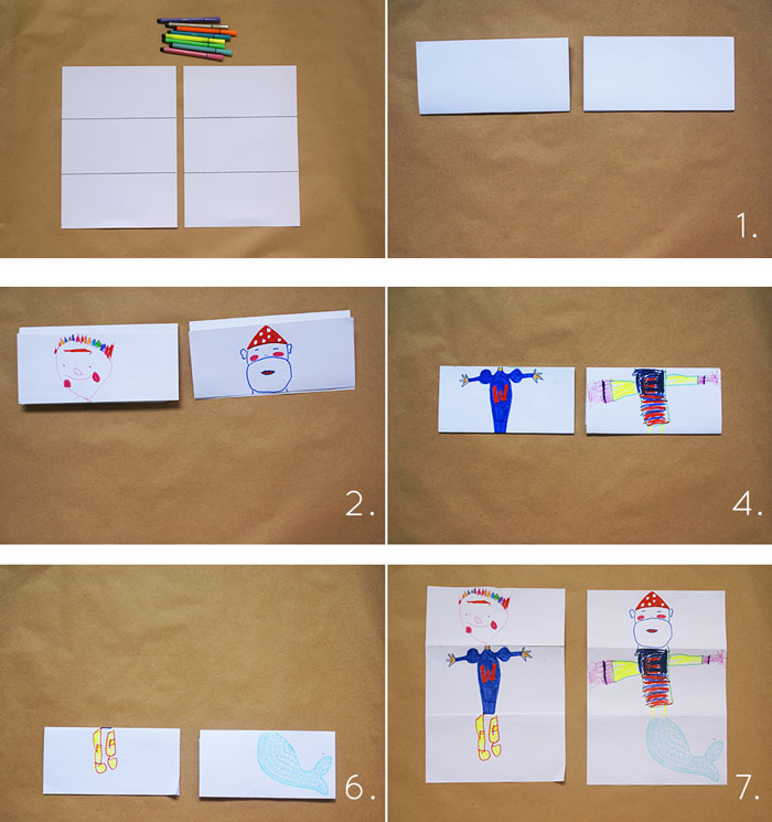 Bloesem Kids   Kids travel crafts - funny mixed characters by Anouk van der El of TimeCapsule