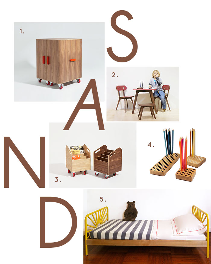 Bloesem Kids | Spotted at Maison and Objet Singapore: Sand for kids childrens furniture