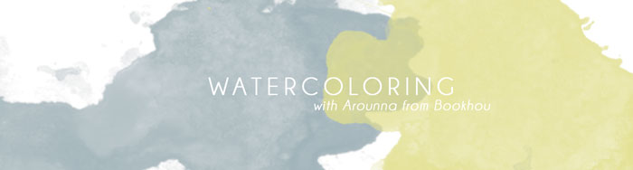 Bloesem Class Alert | Watercolor painting with Arounna from Bookhou in Singapore, 25 OR 27 Aug 2014
