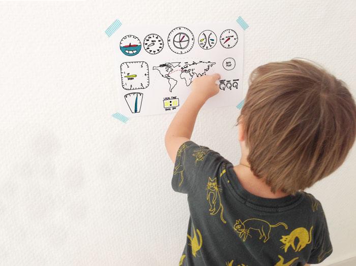 Bloesem kids   DIY kids craft travel series- DIY Cockpit by Anouk van der El ( free cockpit printable)