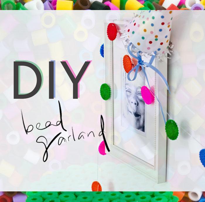 Bloesem Kids| Diy iron on bead garland