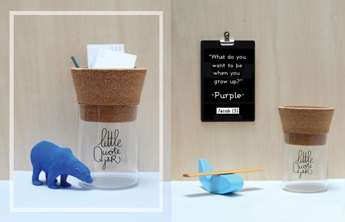 Bloesem Kids | Make History - Little Quote Jar