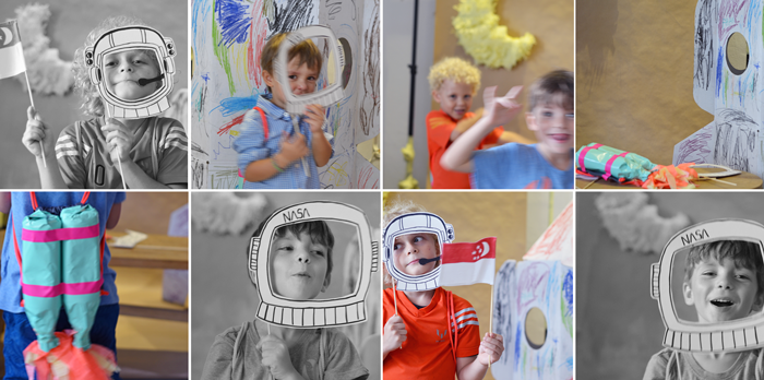 Bloesem Kids   Craft project: Father's Day Printable photobooth props
