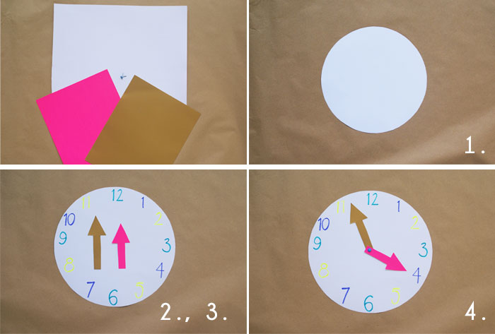 Bloesem Kids | Travel craft projects: World Clock DIY by Anouk van der El of Make History