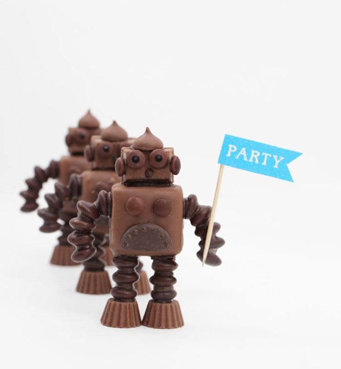Bloesem Kids | Friday link love: Chocolate robots via Handmade Charlotte