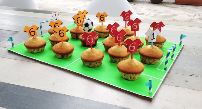Bloesem Kids | Project #171:Soccer-themed treats.. Goal!!
