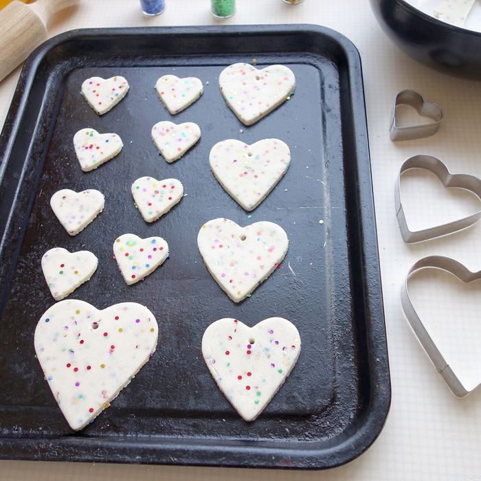 Bloesem kids | Valentine's glitter hearts diy
