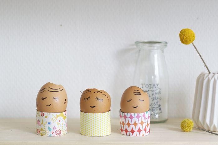 Bloesem kids crafts   Egg shell plants for Easter