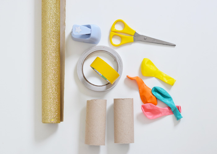 Bloesem kids craft project | DIY confetti poppers