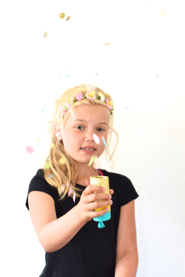 Bloesem kids craft project   DIY confetti poppers