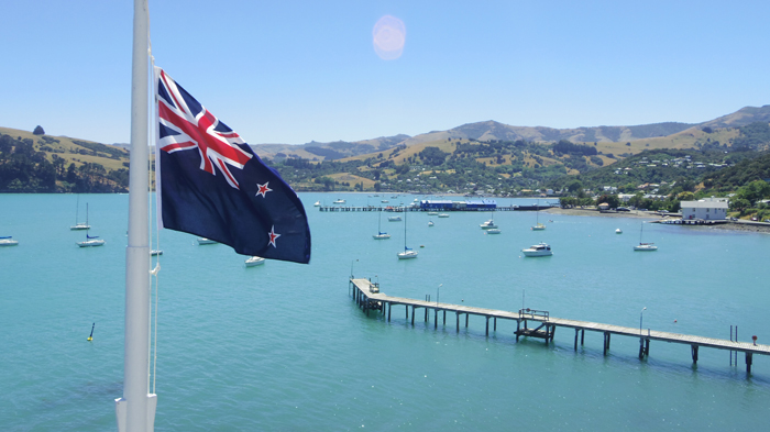 Bloesem kids | Bloesem Gazette: Family vacation to New Zealand | Akaroa view from lighthouse