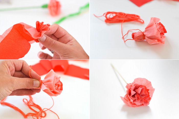 Bloesem kids | Kids craft: Paper flower gifts