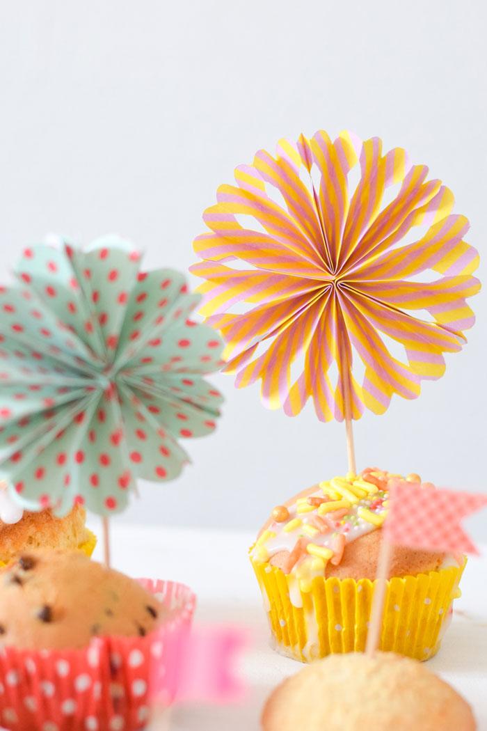 Bloesem kids | DIY craft project: Pinwheel party decoration