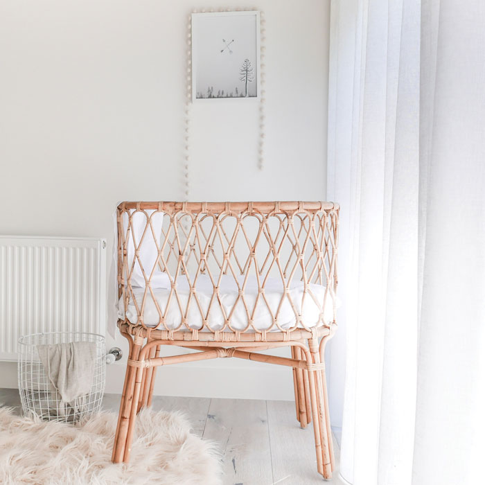 Bloesem Kids | Bassinet by The Woodsfolk for Link Love