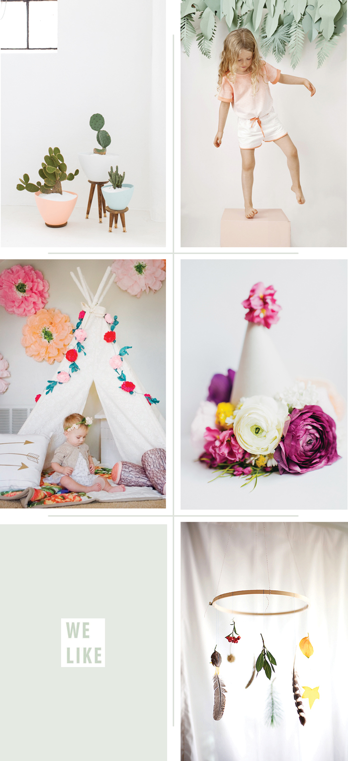 Bloesem Kids   We Like: Floral and Foliage