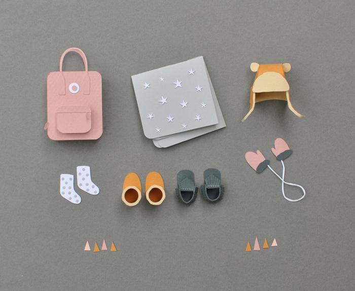 Bloesem kids | Paper art by Chloe Fleury