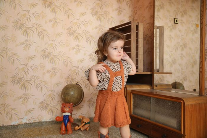Bloesem kids | Knitted kids wear : Kalinka Kids