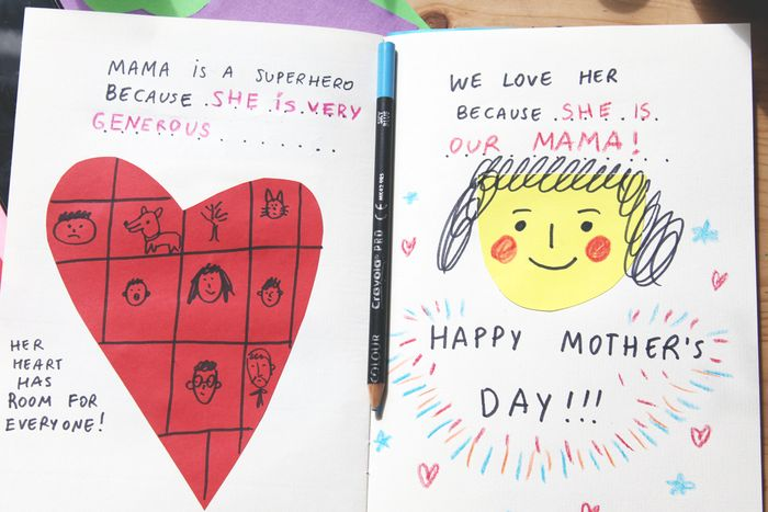 Bloesem kids craft | A book for Mama this Mother's day