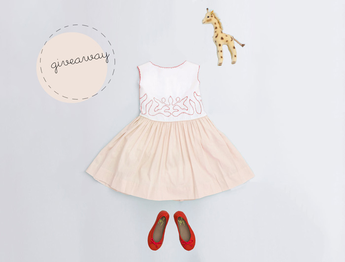 Bloesem kids Giveaway Alert | Win the Flora and Henri Eloise dress worth $168 (Giveaway ends 23 July 2015)