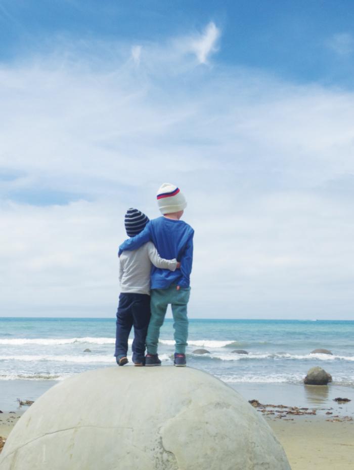 Bloesem kids | Bloesem Gazette: Family vacation to New Zealand | Dunedin Deep Creek