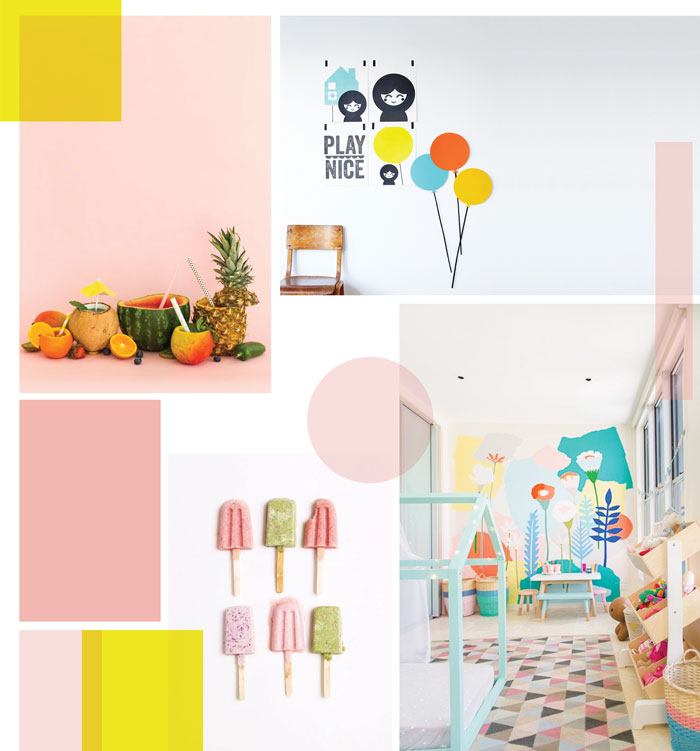 Bloesem Kids | Springtime Colours on Pinterest