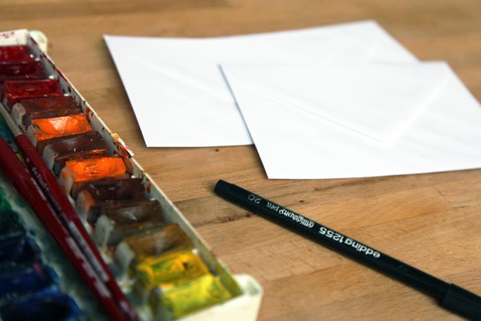 Bloesem kids | Craft project #172: DIY Party envelopes by Yuliya of Yufrukt